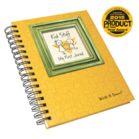 kid stuff – my first journal – sunset yellow