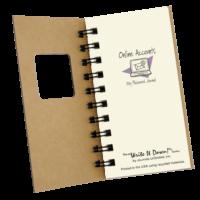 Online Accounts, My Password Journal