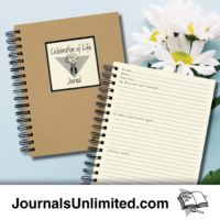 Celebration of Life Journal