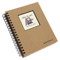 Online Accounts My Password Journal