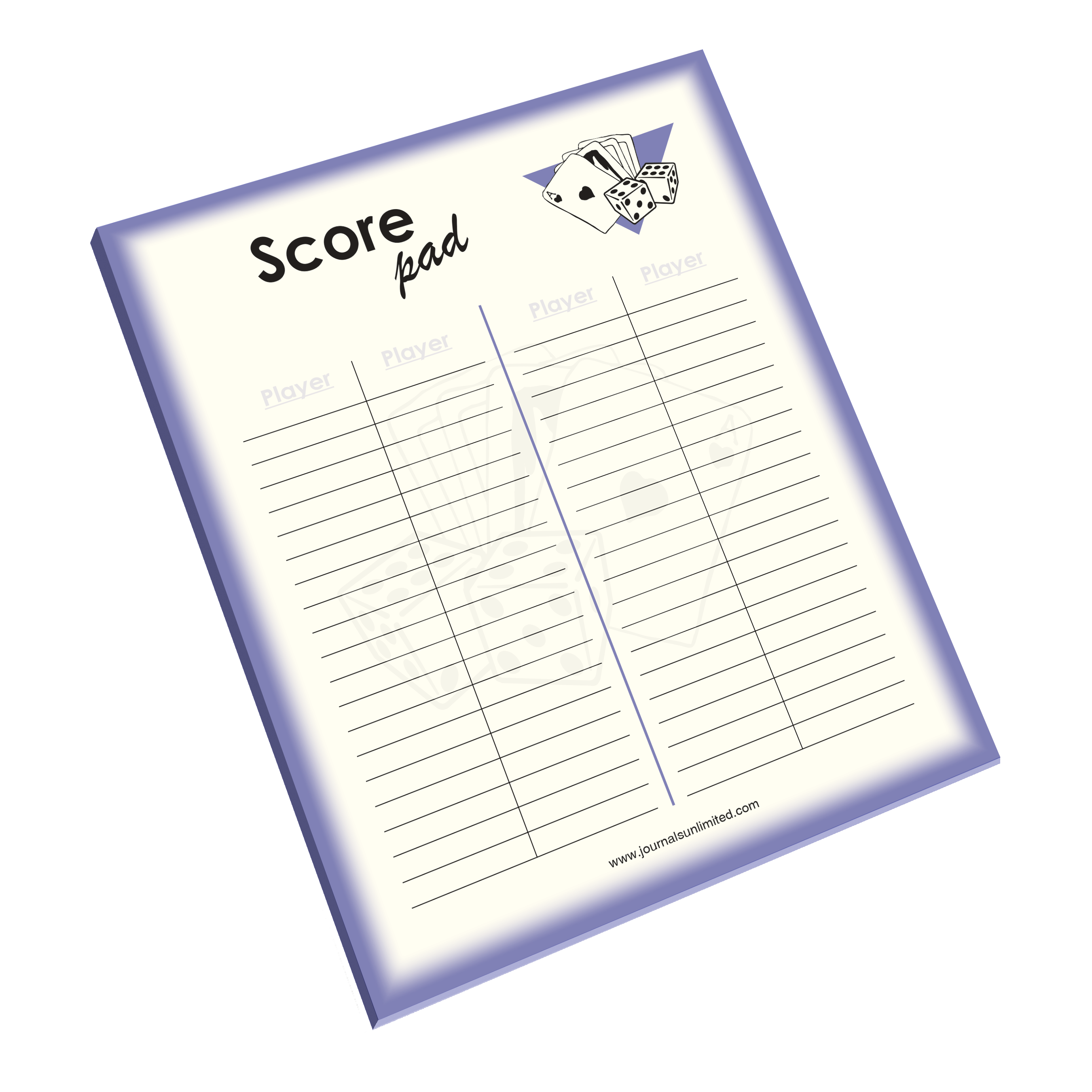 Jumbo Notepad, Score Keeper