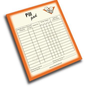 NP-423-Pill Jumbo Note Pad