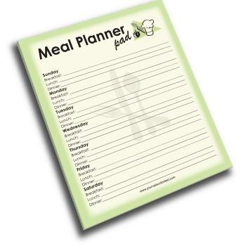 NP-424-Meal-Planner Jumbo Note Pad