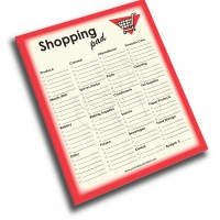 NP-425-Shopping Jumbo Note Pad