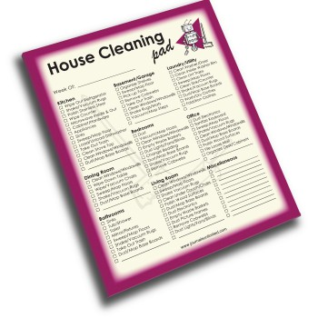 NP-430-House-Cleaning Jumbo Note Pad