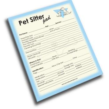 NP-432-Pet-Sitter Jumbo Note Pad
