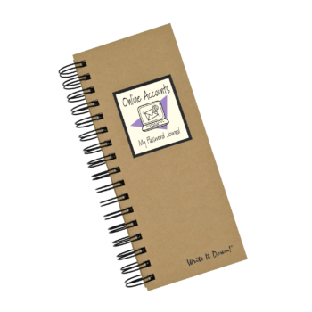 Online Accounts - My Password Journal