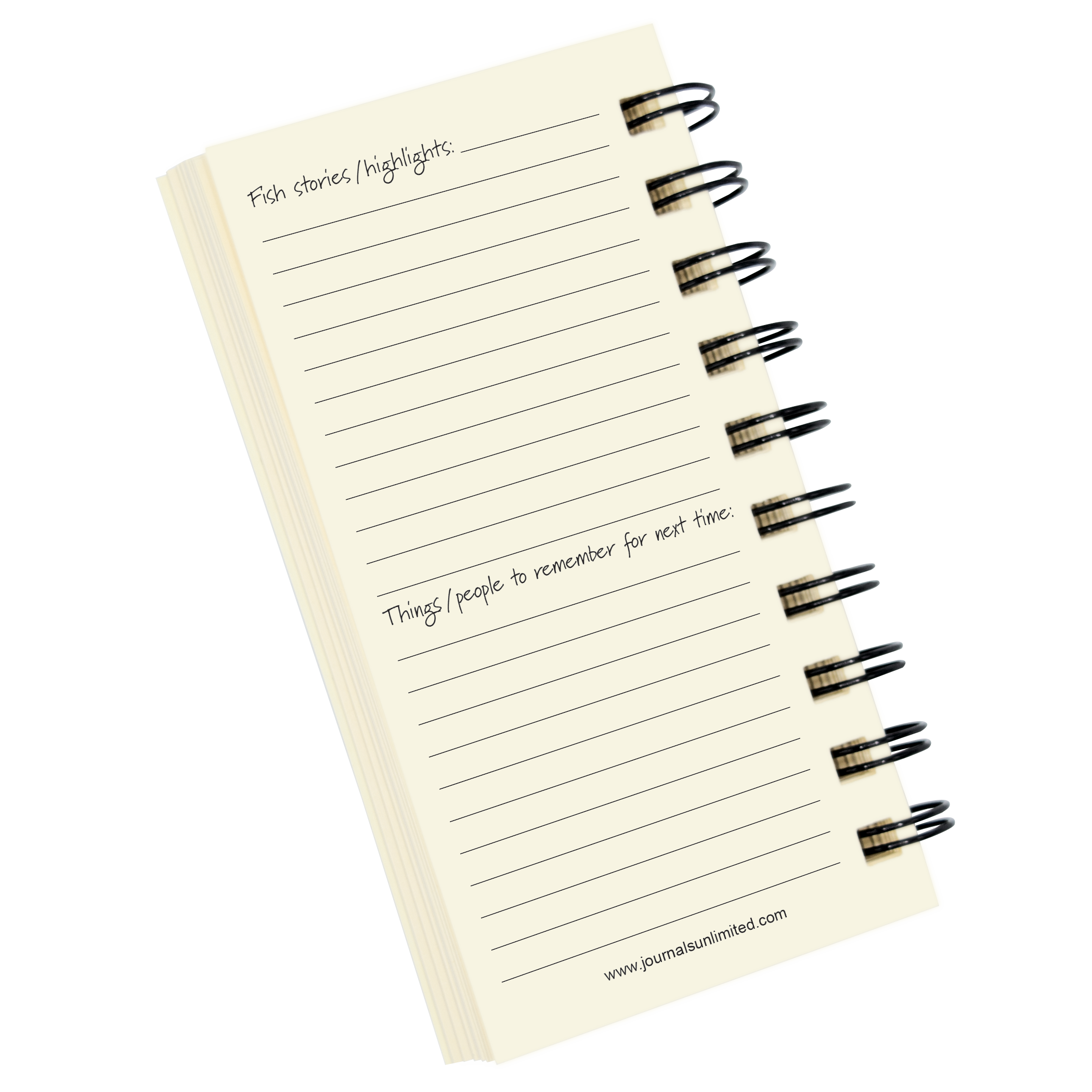 Fly fishing mini journal journals unlimited inc for Fly fishing journal