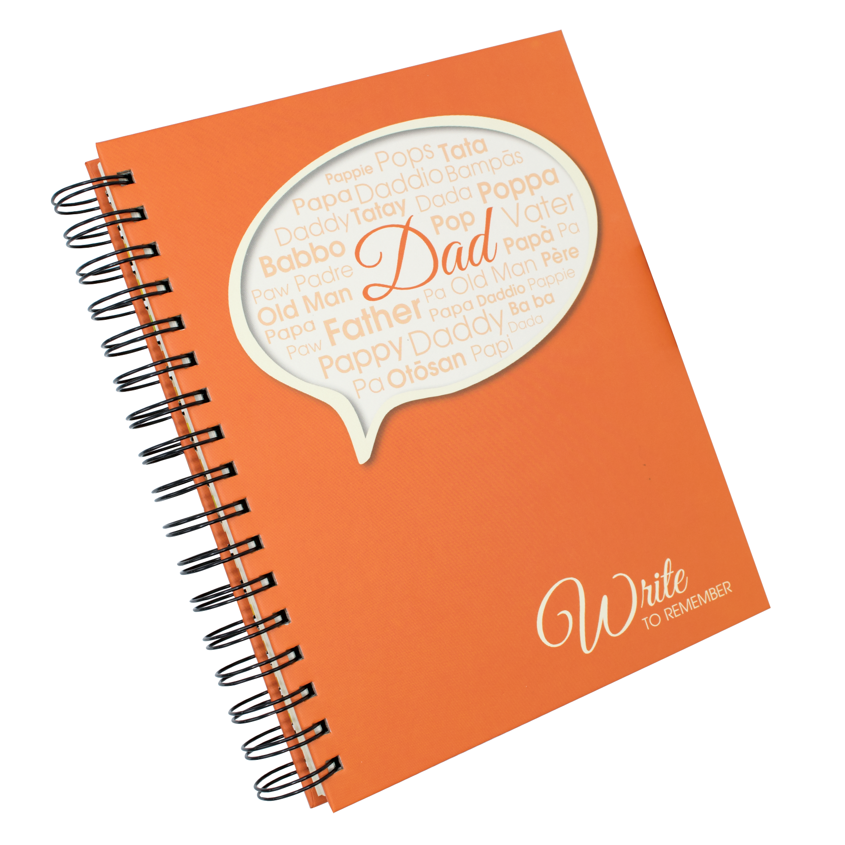 Wrtite to Remember Dad Journal