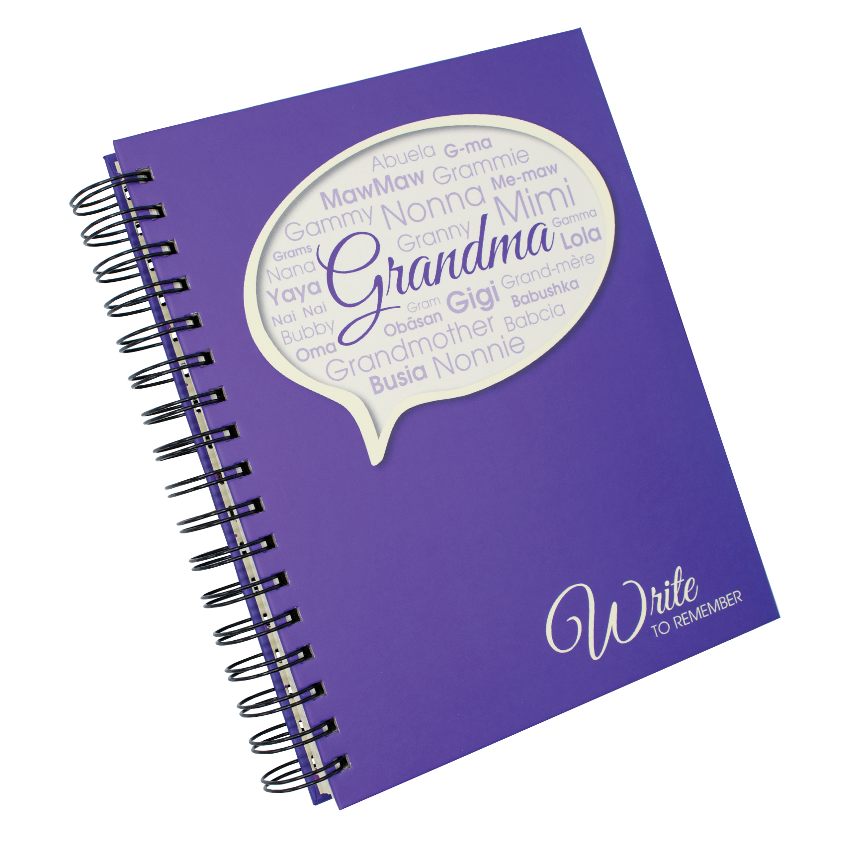 Write to Remember Grandma Interview Journal