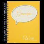 Write to Remember Grandpa Interview Journal