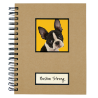 Canine Collection Dog Journal Boston Terrier