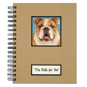 Canine Collection Dog Journal Bull dog