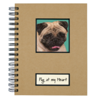 Canine Collection Dog Journal Pug