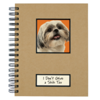 Canine Collection Dog Journal Shihtzu