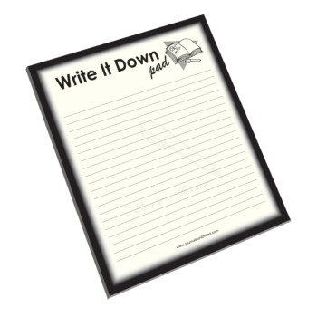 NP-421 Write It Down Notepad