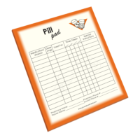 NP-423 Pill Reminder Notepad