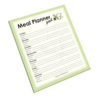 NP-424 Meal Planner Notepad