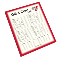NP-427 Gift & Card Notepad