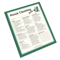 NP-430 House Cleaning Notepad