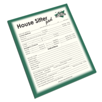NP-431 House Sitter Notepad