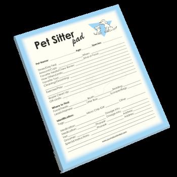NP-432 Pet Sitter Notepad